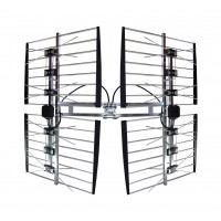 BEST 8HD Adjustable 45-80 mi/70-130 km UHF Antenna